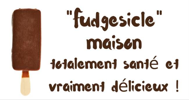 «Fudgesicles» maison totalement santé et vraiment délicieux !
