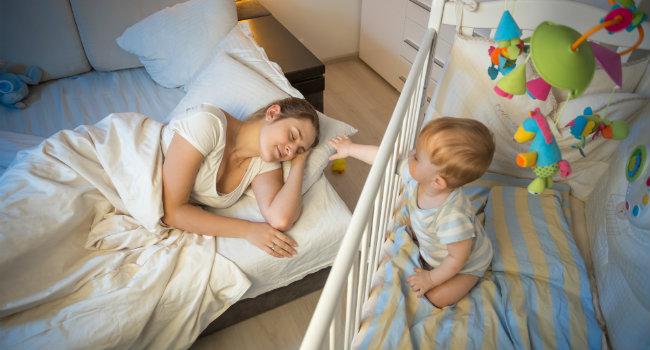 Plus de sommeil pour la maman qui allaite